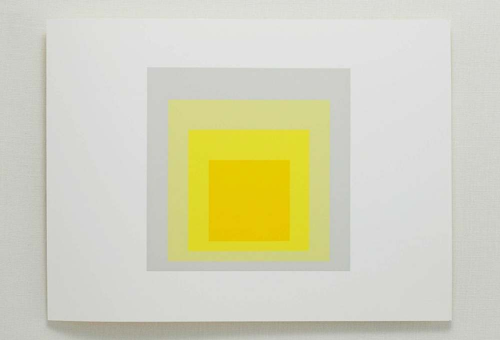 "Josef Albers, ""Portfolio 2, Folder 8, B"" as featured on One Kings Lane"