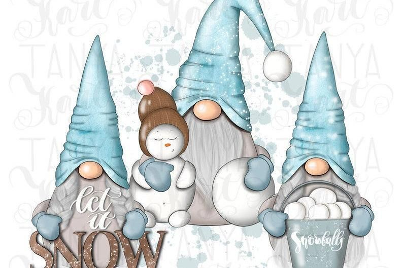 Let It Snow Png Nordic Gnomes Sublimation Gnome Shirt Etsy Nordic Gnomes Christmas Gnome Gnomes