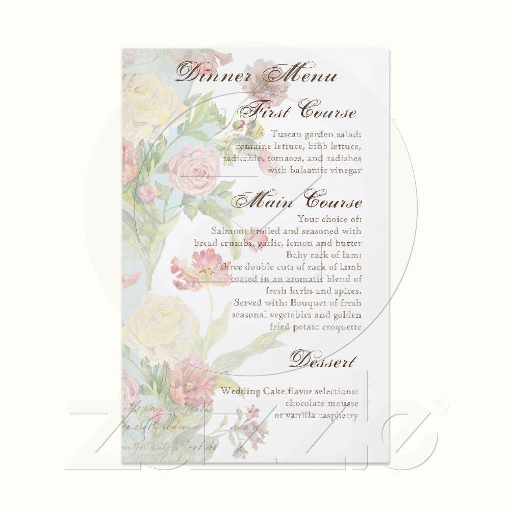 Les Fleurs Peony Rose Tulip Floral Flowers Wedding Flyer Peony