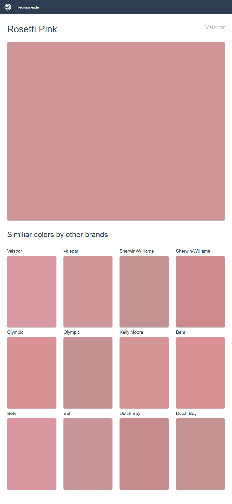 Sherwin Williams Pink Paint Colors | www.topsimages.com