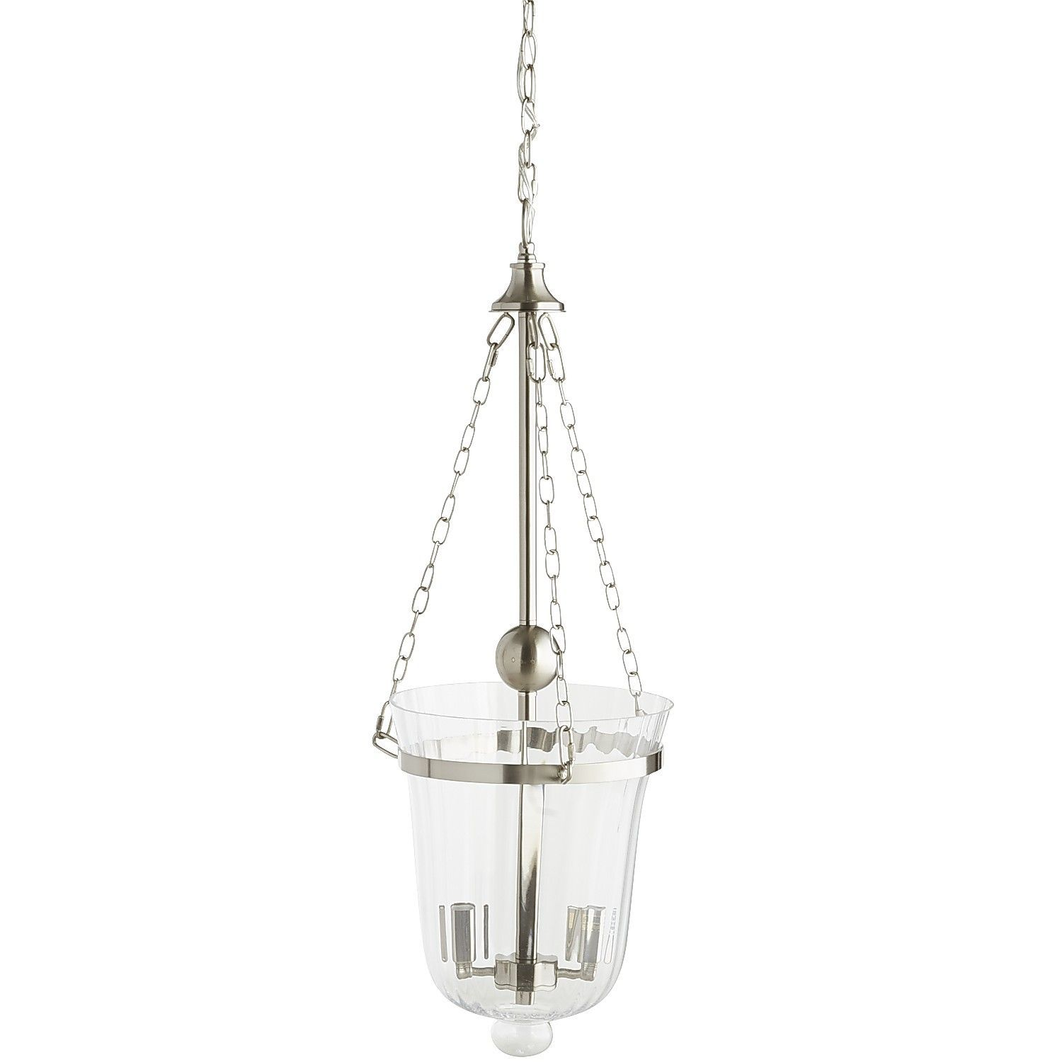 Silver Hurricane Pendant Light