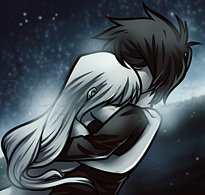 How To Draw An Anime Hug by Dawn Anime hug, Anime, Anime