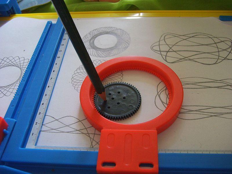 Spirograph Kinder Der 90er Spielzeug
