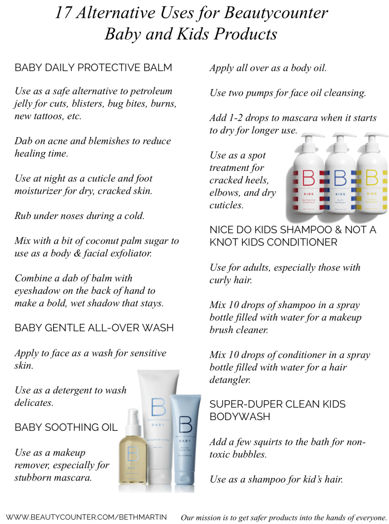 Beautycounter Baby And Kids Not Just For The Little Ones Smallbites Wellness Beautycounter Safe Beauty Products Safe Skincare