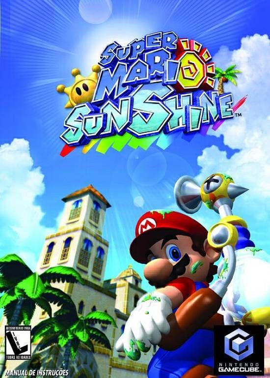 Novo Milenio Jogos Super Mario Sunshine Chega Para Gamecube Super Mario Sunshine Super Mario Jogos De Video Game