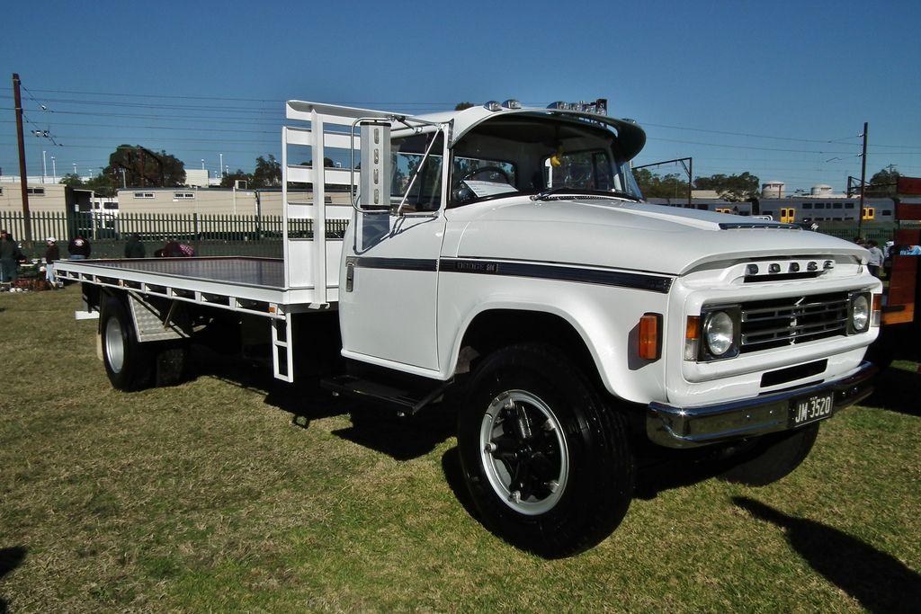 1979 Dodge D5N 600 table top | Classic trucks