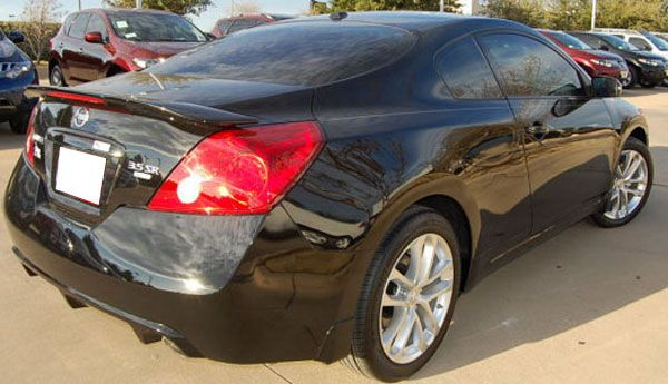 Nissan Altima Coupe Painted Rear Spoiler With Light, 2008, 2009, 2010, 2011