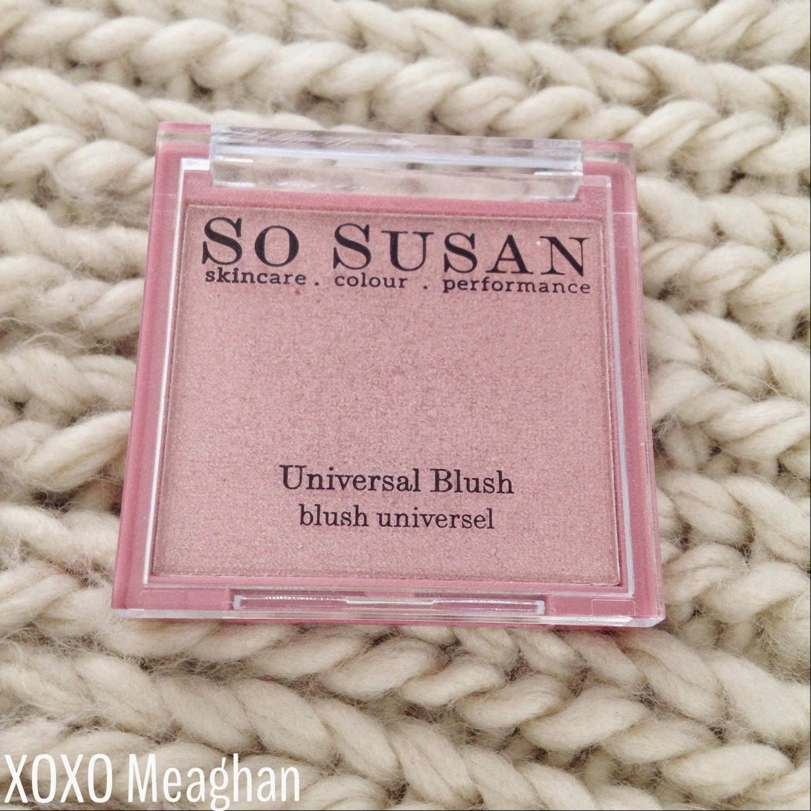 Xoxo Meaghan So Susan Universal Blush Review Swatch Blush Swatch Universal