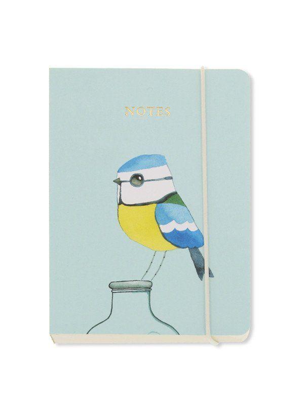 / Matt Sewell Blue Tit A6 notebook