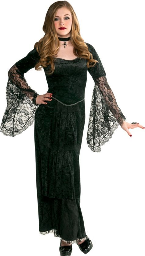 teen girls gothic temptress costume party city i like the witch she is cool - How To Look Like A Witch For Halloween