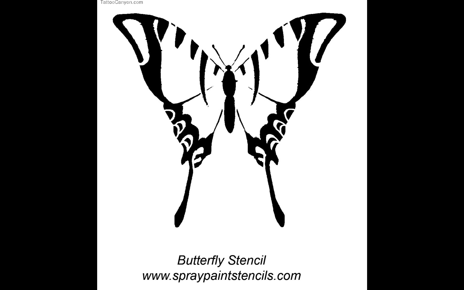 5422 butterfly outline tattoo free download 24660 tattoo design