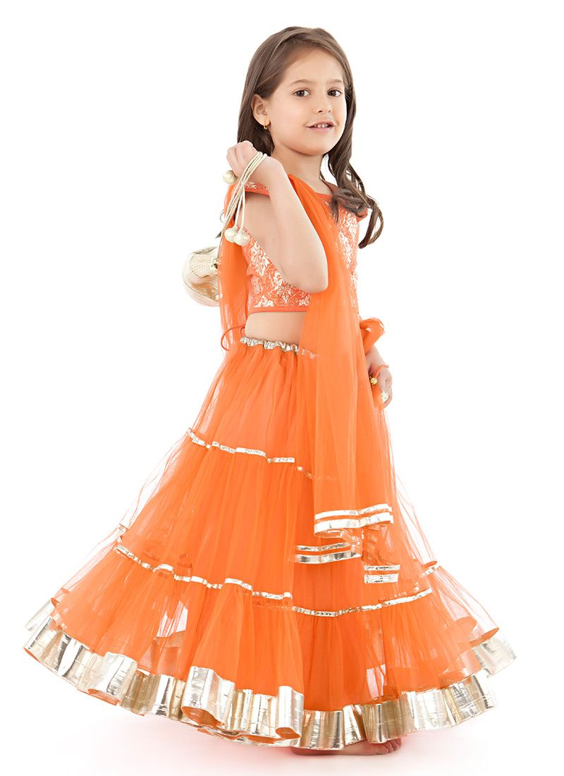 Top dresses to wear to a wedding  Buy Kidology Maya Nocon Net Lehenga Choli online from the wide
