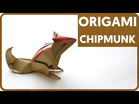 37 Diagram Origami Chipmunk Kyohei Katsuta Youtube Paper