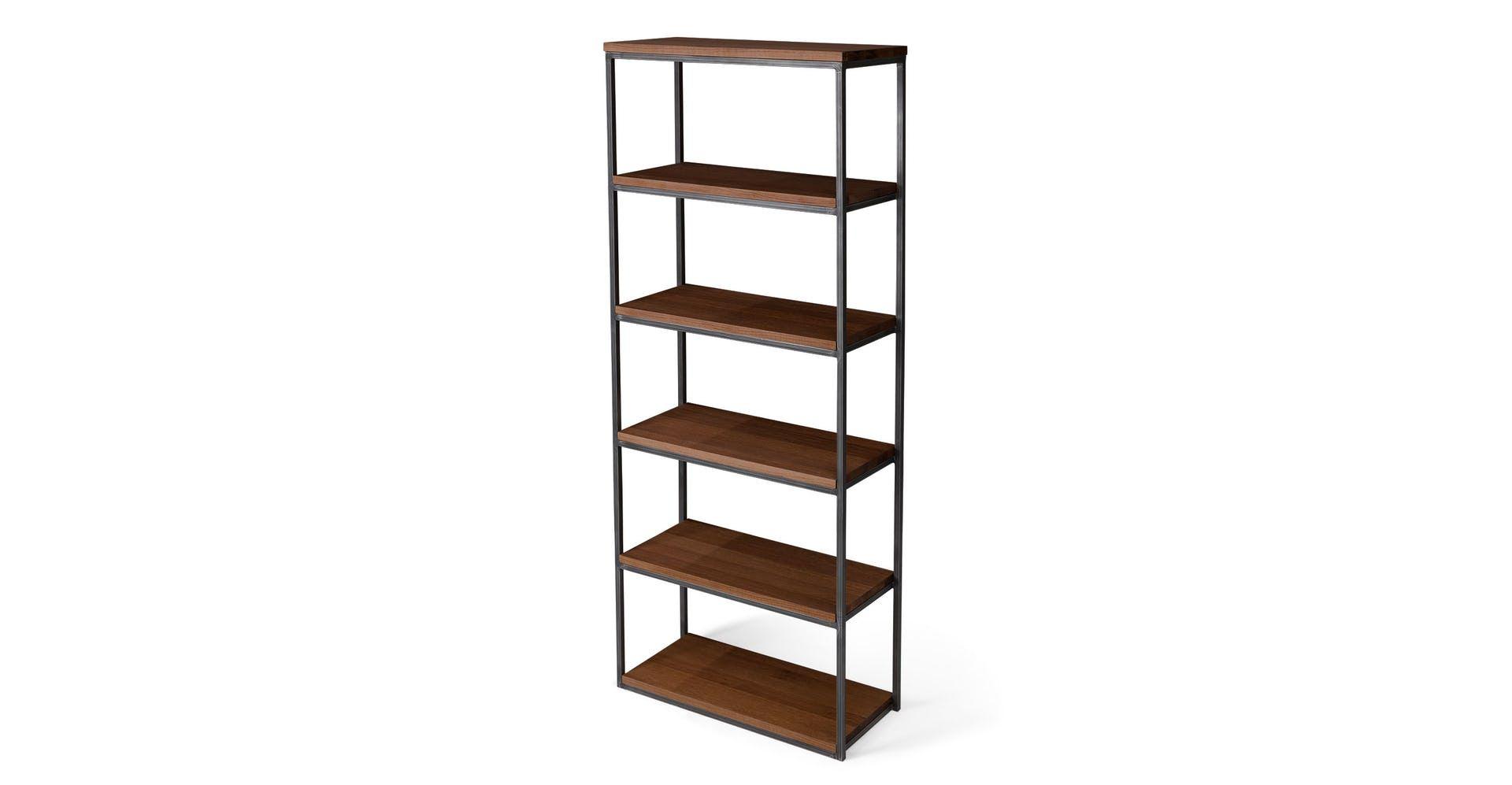 Archive Walnut 77 H Bookcase Furniture Design Modern Modern