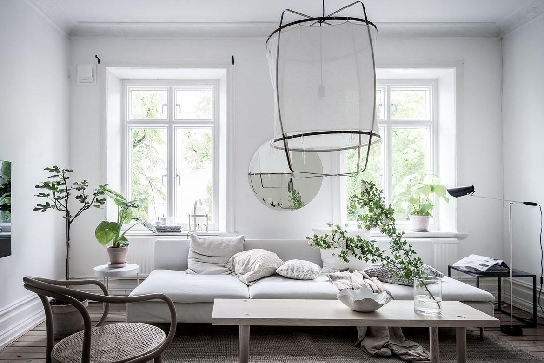 Frisse woonkamer met leuke items - inrichting | Pinterest