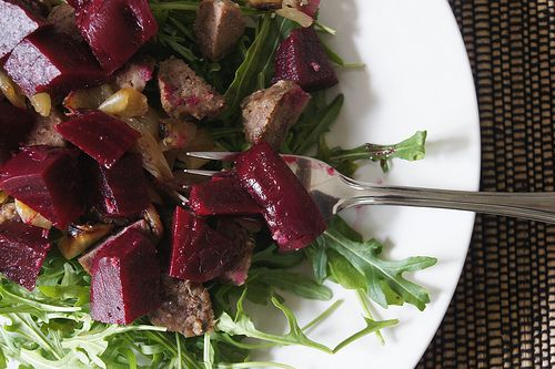 pickled beetroot - looks yummy :)