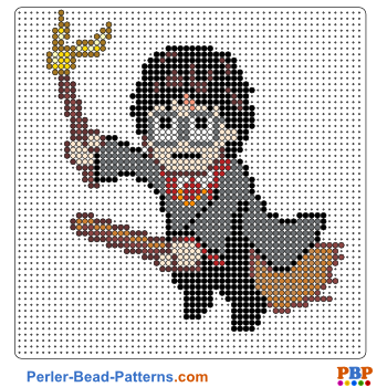 Harry Potter Perler Bead Pattern. Download A Great Collection Of Free PDF  Templates For Your Perler Beads At Perler Bead Patterns.com