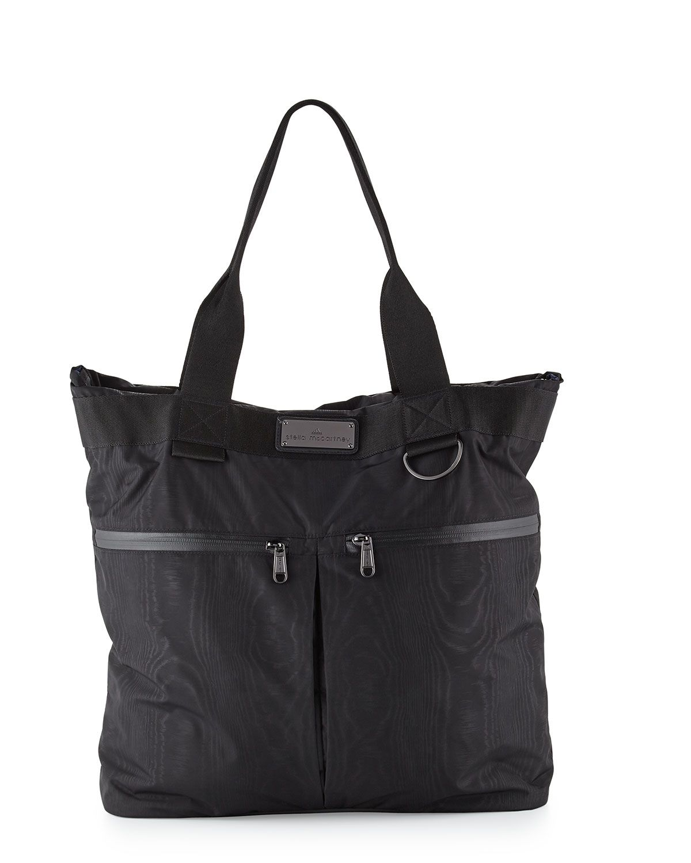 b4e87cb76b Moire-Print Big Sports Bag