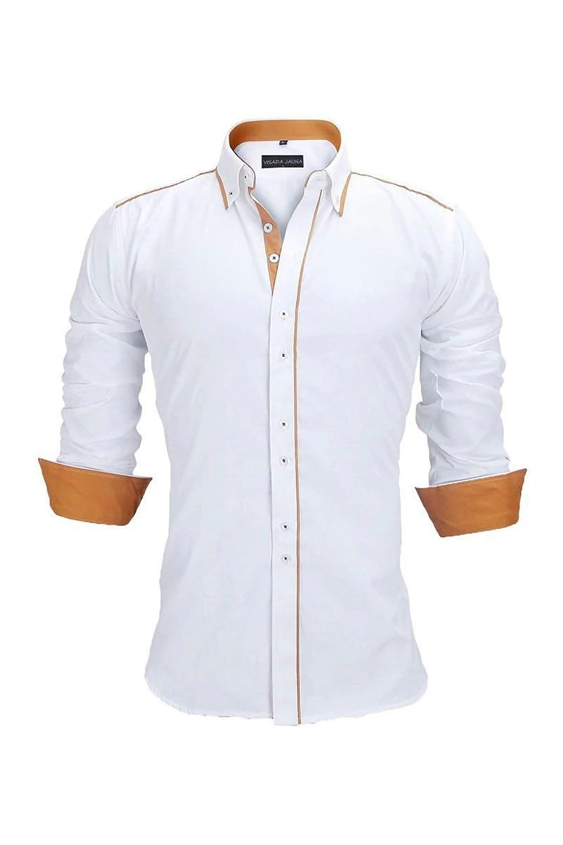 3a7f47627 Button Down Long Sleeve Formal Shirt Business Shirts, Corporate Shirts, Mens  Fashion Wear,