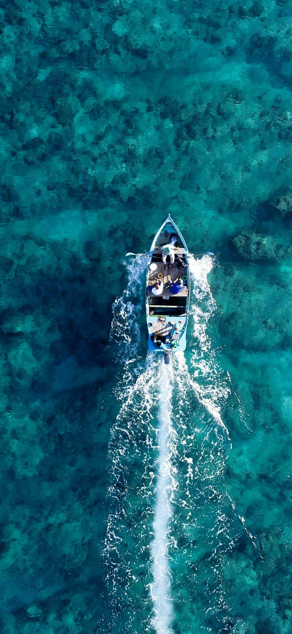 Iphone Wallpaper Boat Holiday Sea Aerial View Hd Aerial View Iphone Wallpaper Wallpaper Wallpaper coast aerial view sea boat