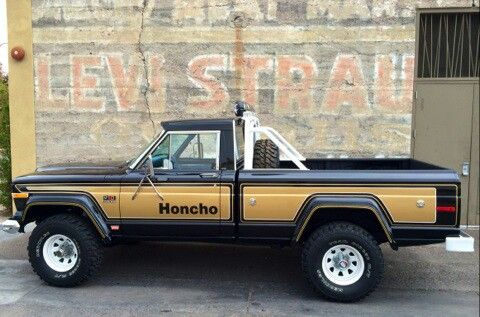 Jeep Honcho Levi Edition Jeep Truck Vintage Jeep Jeep Pickup