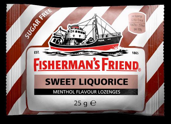 Sweet Liquorice er akkurat som navnet tilsier, søt lakris. Varianten er sukkerfri...