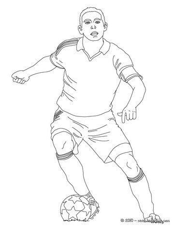 Fussball Zum Ausmalen Fussballer Dribbelt Zum Online Ausmalen Fussballspieler Ausmalen Fussball Kunst