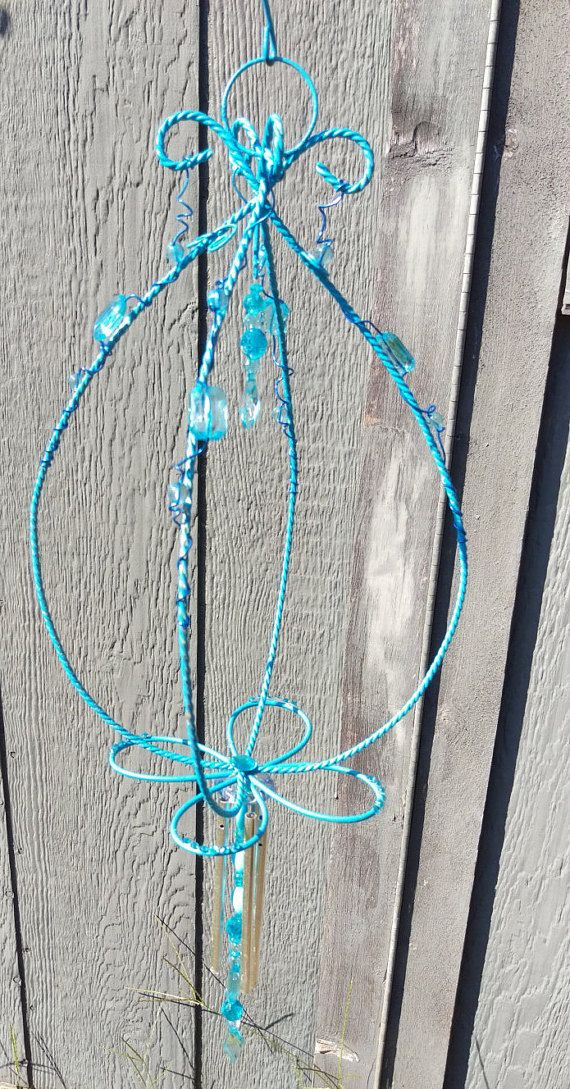 Hey, I found this really awesome Etsy listing at https://www.etsy.com/listing/476705831/twisted-wire-windchime