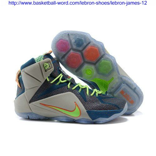 purchase cheap 7e6c2 70826 ... get trillion dollar man nike air lebron xii 12 reflective blue titanium  with electric green and