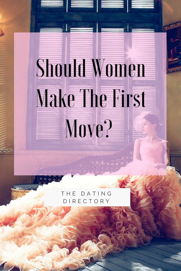 Dating advice making the first move