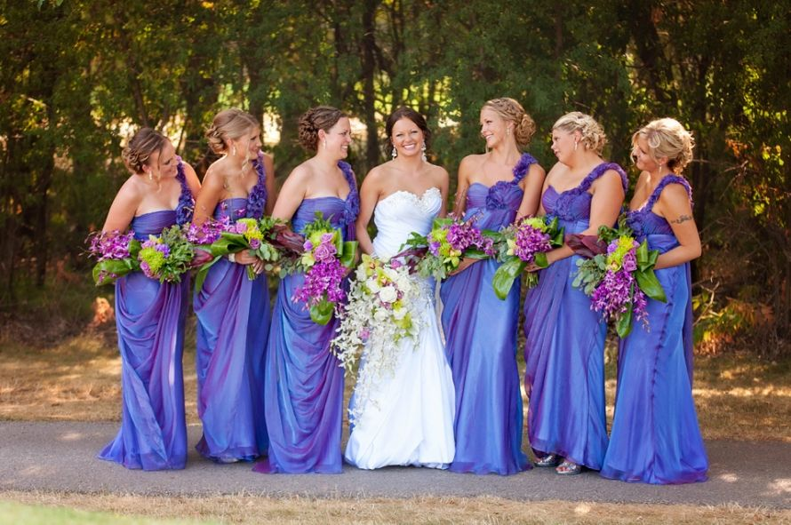 OMG... Love these bridesmaid dresses!!!! | Foster-Warren Rustic Chic ...