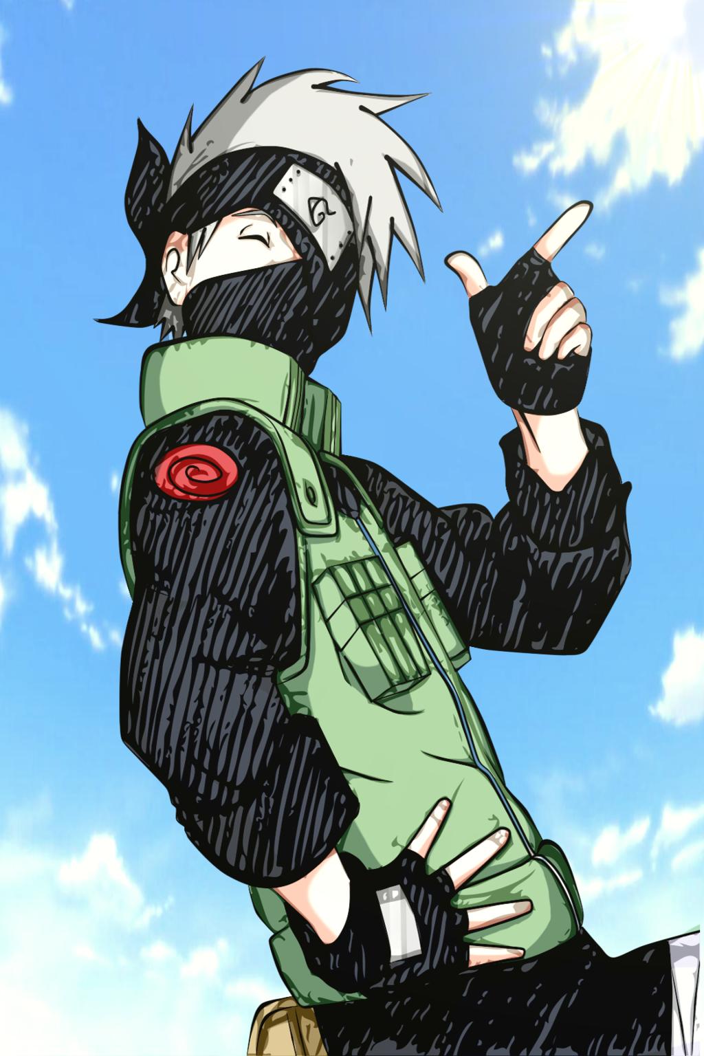 kakashi cute lovely (With images) Naruto, Samuraj