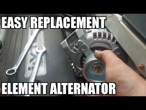 How To Replace An Alternator 03 11 Honda Element Youtube Honda Element Alternator Element