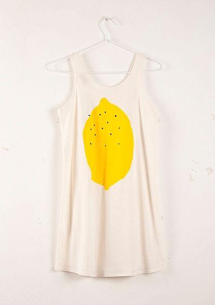 Sleeveless Dress Lemon