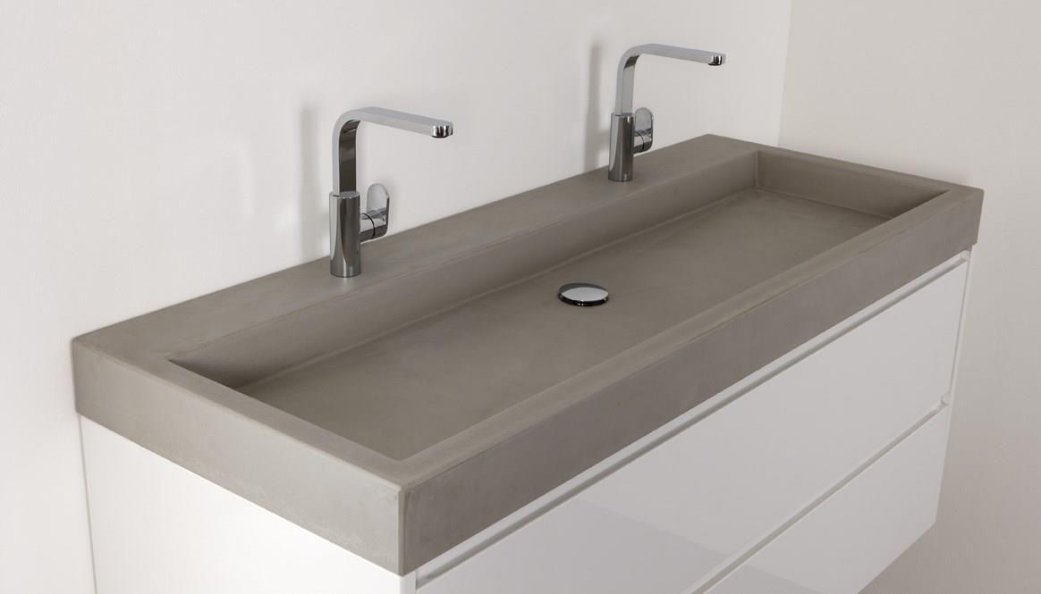 Wastafel beton voor badkamer beton look pinterest house - Toilet wastafel ...