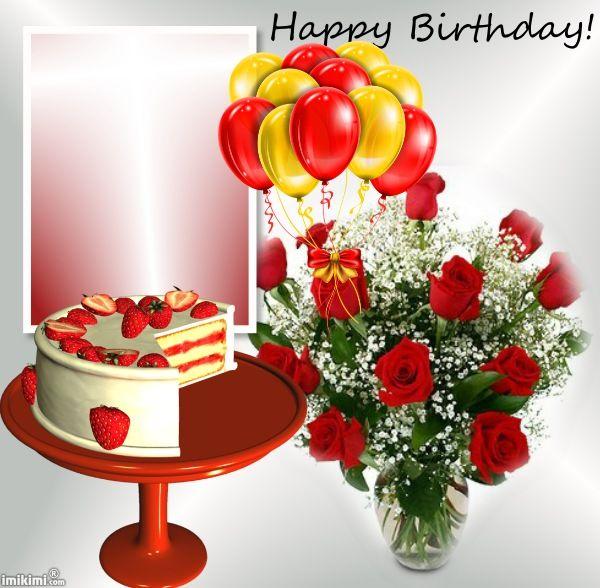 Happy Birthday! | imikimi | Pinterest | Feliz cumpleaños, Cumpleaños ...