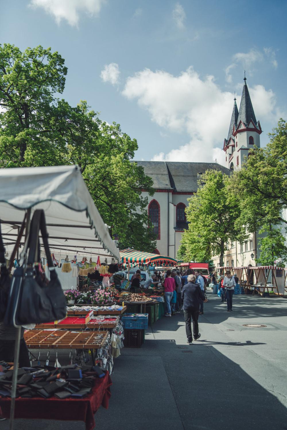 Frisches Vom Wochenmarkt 2019 Einkaufen In Hof Wochenmarkt Stadt Hof Hof