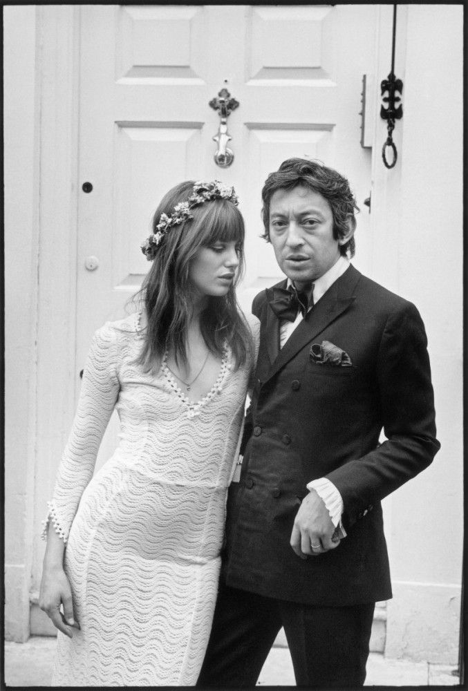 5315cb3708 Serge Gainsbourg y Jane Birkin -- super fashionable