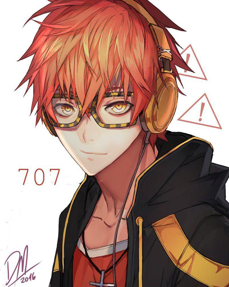 707 (mystic messenger) by Shikaama on DeviantArt