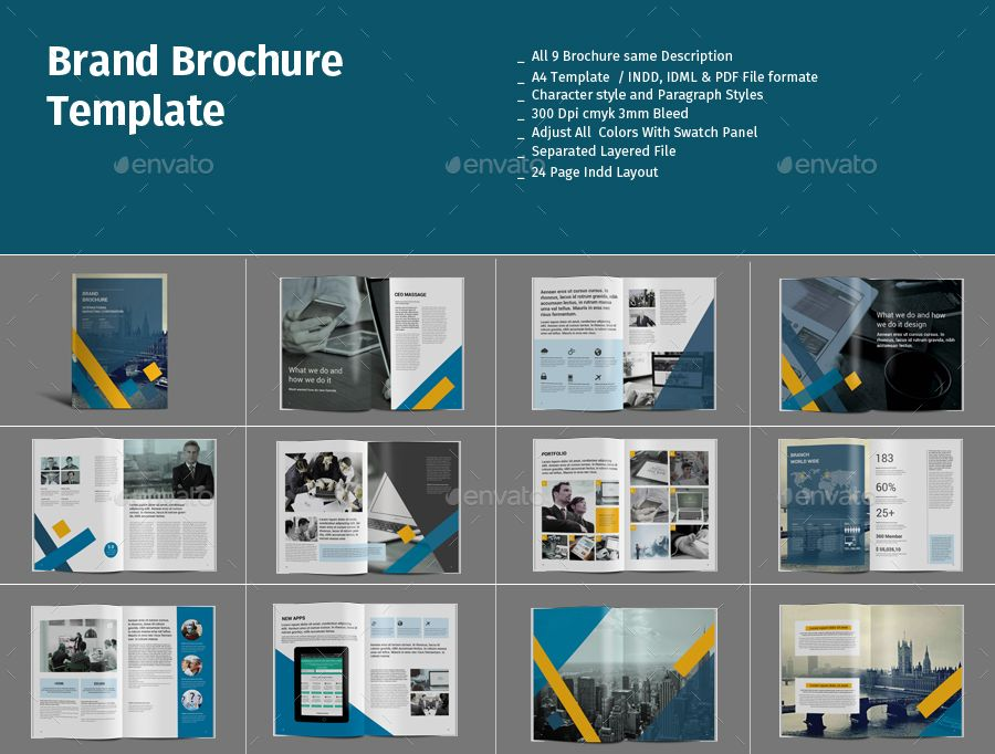 Brochure Template Bundle 3 Brochure Template Bundle Brochure Template Brochure Business Brochure