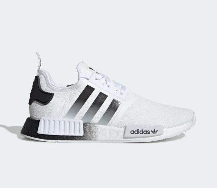 5. Adidas Men's NMD R1 White and Black Shoes | Adidas shoes ...