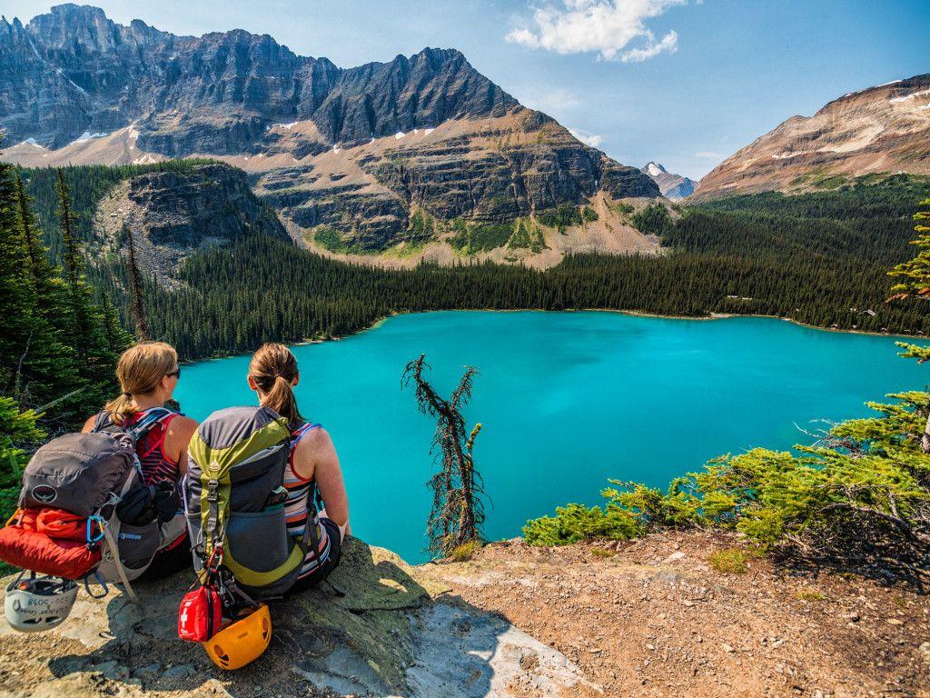 Lake O Hara British Columbia Canada Y Travel Bucket