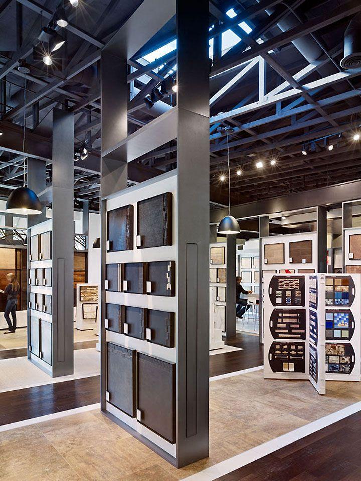 Industrial look ceiling  Office Ideas  Flooring store