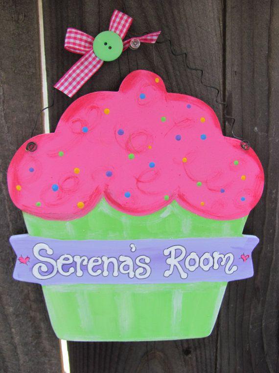 Large Cupcake Room Decor Bake Or Kitchen By Evanscrafthut 9 50