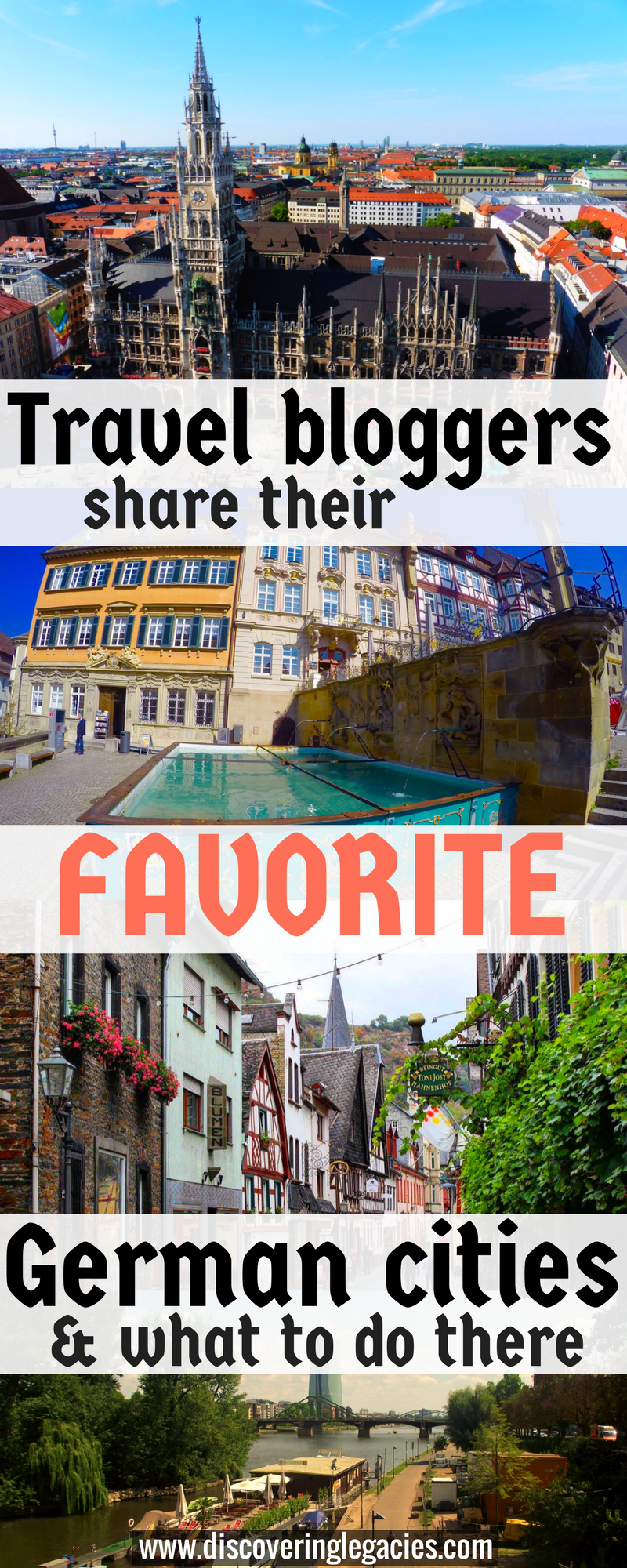 Travel bloggers share their favorite German cities and ...