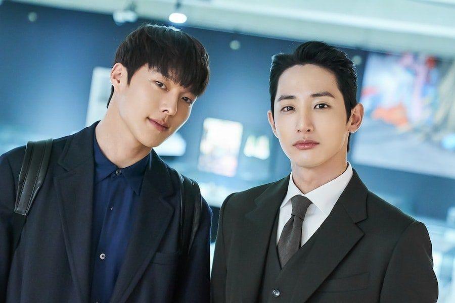 "Jang Ki Yong And Lee Soo Hyuk Show Off Playful Chemistry On Set Of ""Born Again"""