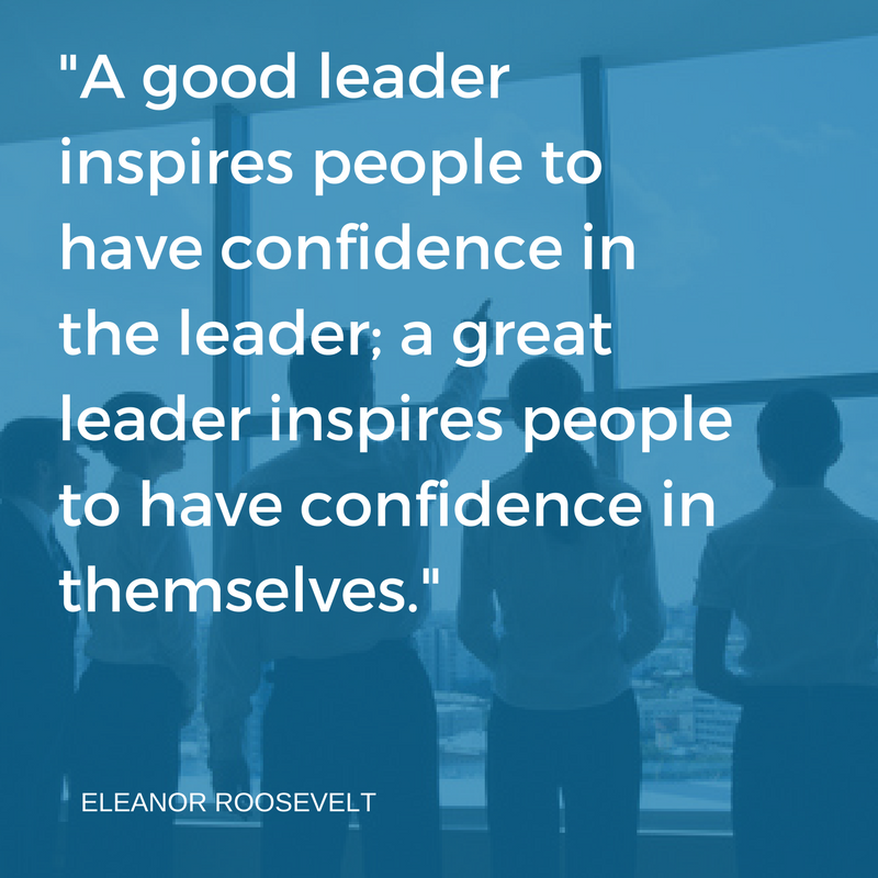 Make It Clear That You Support Your Team Members Your Confidence In Them Boosts Their Confidence In Themse Monday Motivation Character Strengths Great Leaders