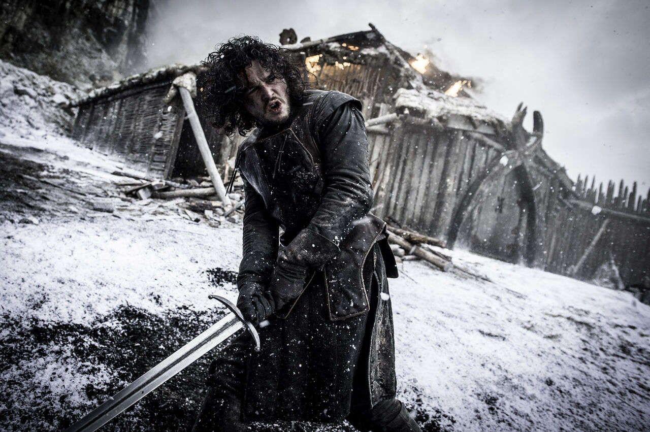 Lord Commander Game Of Thrones Jon Snow Sanat Birleşik Krallık