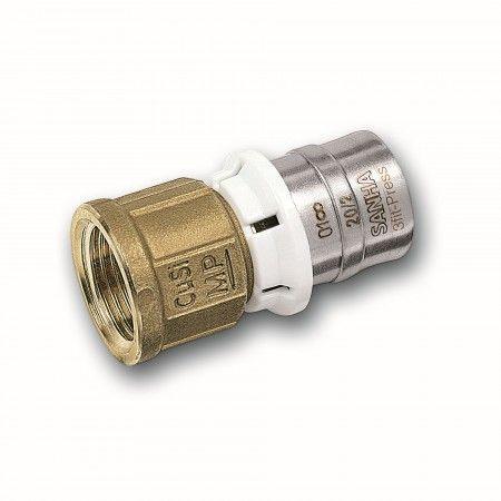 Alu-Verbundrohr Pressfitting bleifrei SANHA /Übergangsnippel mit AG 32 mm x 1 1//4