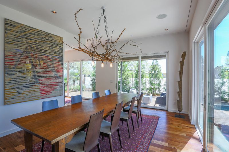 Contemporary Dining Room By Tac Studios Architects Dining Room Contemporary Minimalist Home Decor Dining Room Lamps